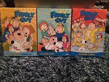 Family Guy Box Set DVD's Volumes 1, 2, & 3 #C