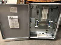 New Eaton MEM Memshield 3 6-WAY 3-Phase MCCB Distribution Board PBEG625M
