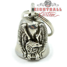 Gremlin Ride Bell Riding Glücksglocke Glocke für Harley & Motorrad Fahrer EAGLE