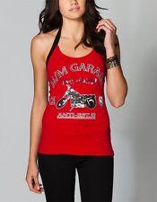 NWT Metal Mulisha Juniors Womens Freedom Halter Tank Top Shirt Cami Small new