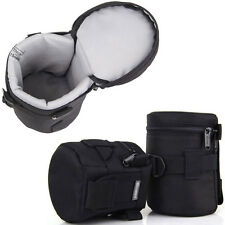 DSLR Camera Lens Protector Pouch Case Insert Bag For 24-105mm Canon Sony Nikon