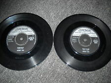 """BOBBY VEE-LOT OF TWO 7"""" 45'S-IMPORTS-ENGLAND-MUST SEE!"""