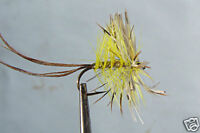 10 x Mouche Sèche Mai H10/12/14/16 fliegen mosca truite