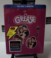 GREASE COLLECTION - 40TH ANNIVERSARY [NEW BLU-RAY] FREE SHIPPING!