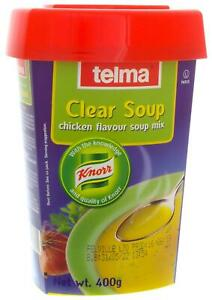 Telma Kosher Clear Soup Chicken Flavour Soup Mix 400g Parve Stock Powder