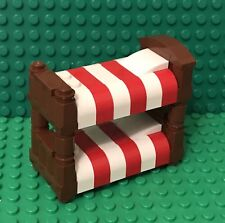 Lego New Bunk Bed / MOC City Mini Figures Interior Furniture / Double Stack Beds