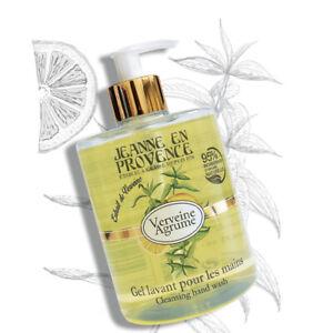 Jeanne En Provence VERVEINE AGRUME LIQUID SOAP 95% Natural Ingredient 500ML