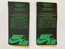 Nike Air Jordan Tongue Tag Pine Green 1 2020 2018 Retro