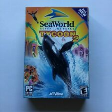 SeaWorld Adventure Parks Tycoon 2 PC Computer Game CD Rom Software 2005