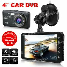 Front and Rear Car Dash Camera Dual Camera Dash Cam Video DVR Recorder FHD Touch