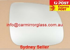 RIGHT DRIVER SIDE MIRROR GLASS FOR AUDI Q7 2010 - 2015