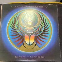 Record Album Journey Captured double album w/poster LP VG