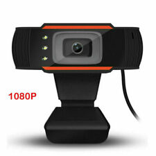 Webcam HD 1080p PC Caméra USB 2.0 enregistrement vidéo avec Microphon