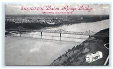 10,000,000 Baton Rouge Bridge Dedicated 1940 Holsum Bread LA Louisiana B11