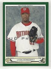2005 Upper Deck Origins Promo - #41 - Livan Hernandez - Washington Nationals