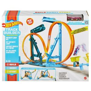 Hot Wheels Track Builder Unlimited Infinity Loop Kit For Kids Christmas Gift F2