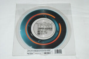 """DAFT PUNK Tron Legacy Translucence 10"""" Red Picture Disc 2011 RSD Release RARE"""