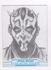 2017 Star Wars Galactic Files Reborn sketch card Dean Drummond