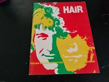 "Vintage ""HAIR"" The Musical Program 1969"