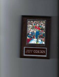 JEFF GORDON PLAQUE NASCAR AUTO RACING BUSCH