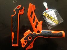 ACERBIS ORANGE & BLACK FRAME GUARDS FITS KTM EXC 125 150 200 250 300  2012-2016