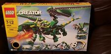Lego 4894 Creator Mythical Creatures 85% complete w/ box and 2 instruction books