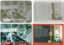 Captain Scarlet Printing Plate for Base Card 23 - Pair of Printing Plates