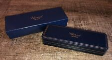 Genuine Navy Leather Rectangular Watch Display Box