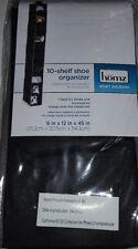 10 Pair Shoes Closet Shelf Organizer keeps Shoes & Accessories Organized New