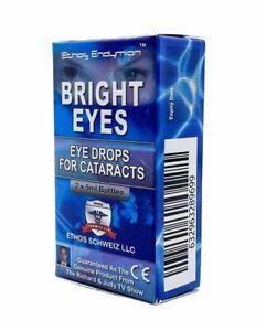Cataract Ethos Bright Eyes NAC Eye Drops 1 Box 10ml FREE POSTAGE WORLDWIDE