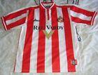 Sunderland football shirt Home adult men's M Medium 1999 - 2000 asics