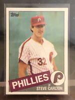 1985 Topps Steve Carlton Philadelphia Phillies #360