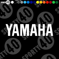 YAMAHA - Sticker Vinyl Decal YZF 750 TENERE XSR MT XCR FJR Haga SMALL 9824-0320