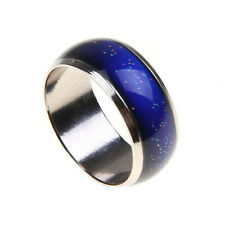 Vintage Magic Changing Colour Temperature Emotion Feeling Mood Band Finger Ring