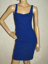 NET-A-PORTER 100% VIRGIN WOOL BLUE MOSCHINO DRESS SIZE UK 8 BNWT RRP£ 405