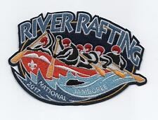 2017 National Jamboree River Rafting Patch, Mint!