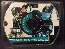 Paul Kariya 1999-00 Upper Deck PowerDeck Time Capsule CD-Rom