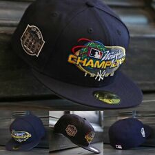 New Era New York Yankees Navy 1998 World Series Champs 7 3/4 59Fifty Fitted Hat