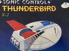 Vintage space Toy conqueror sonic control thunderbird X2 vintage space Spaceship