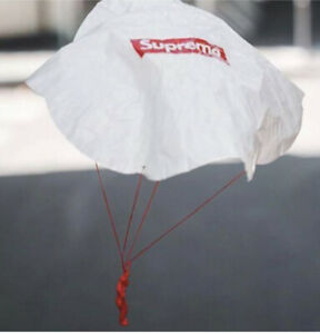 New Supreme Parachute Toy Paratrooper Mini Army Man Red Box Logo Sticker FW19