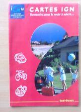 carte routière  -  IGN -  SUD OUEST  -  2001