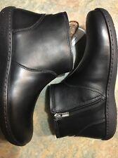 Women's Birkenstock Bennington Ankle Boots Size 7M Or 38 Black New!