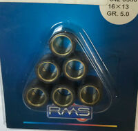 Massette masse kit variatore diametro 16 x 13 SCOOTER grammi 5 set rulli rullini