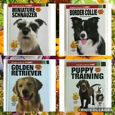 Smart Owner's Guide Hardback Border Collie Schnauzer Golden 50% OFF RETAIL NEW