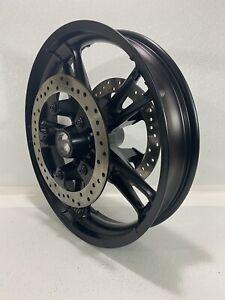 "Genuine 09-19 Harley Touring Enforcer Wheels Rims 19"" Front & 16"" Rear Black"