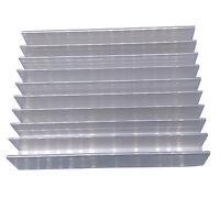 US Stock Aluminium Heatsink 100mm x 76mm x 21mm For 4pcs 3w LED or 10pcs 1w LED