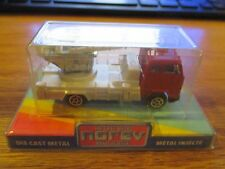 Norev Red and Silver Fire Truck HO Scale MIP France w Free ship!