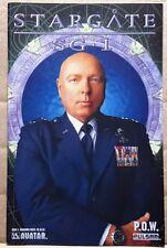 Stargate SG-1 Comic book P.O.W. Issue 3 Hammond Photo Cover
