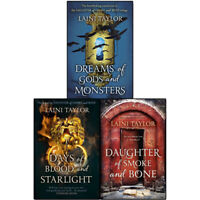 Daughter of Smoke and Bone Trilogy Series Laini Taylor 3 Books Collection Set