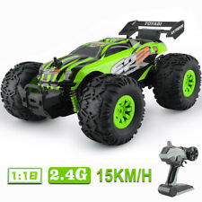 4Wd Rc Car Buggy 1/18 Scale High-speed 2.4G Remote Control Truck Rtr Off Road